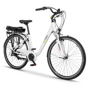 Rower elektryczny EcoBike Trafik White 28