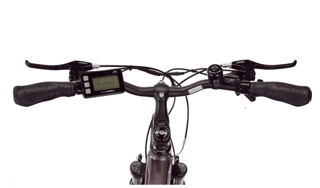 Rower elektryczny Overfly Gaea wyswietlacz