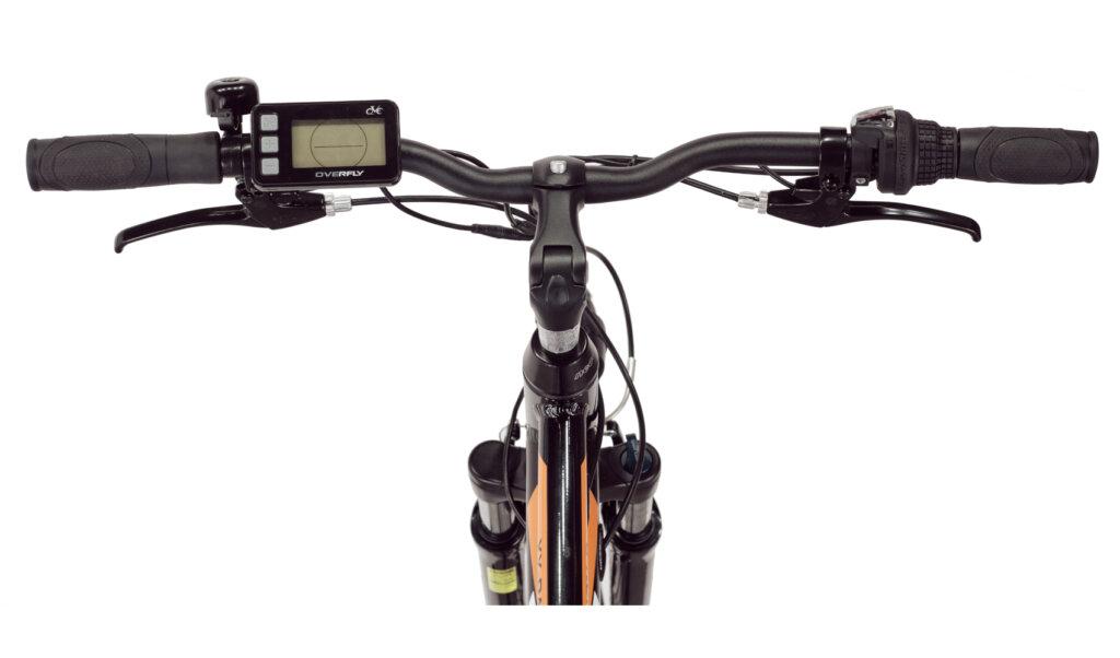 Rower elektryczny Overfly Passion wyświetlacz