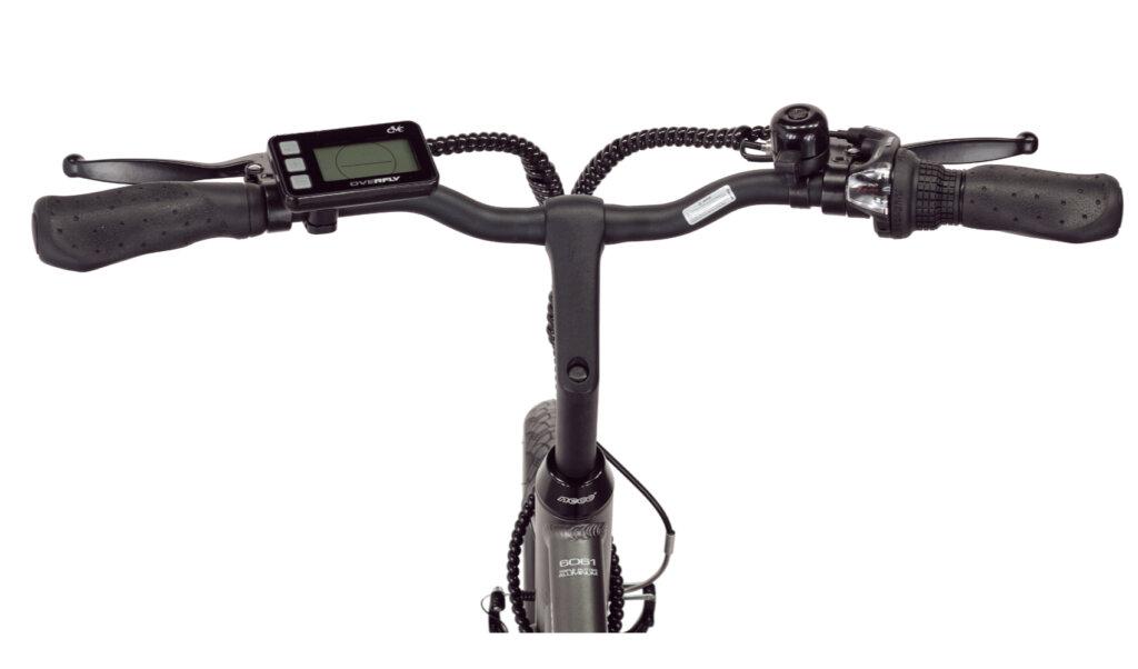 Rower elektryczny Overfly Pioneer wyświetlacz